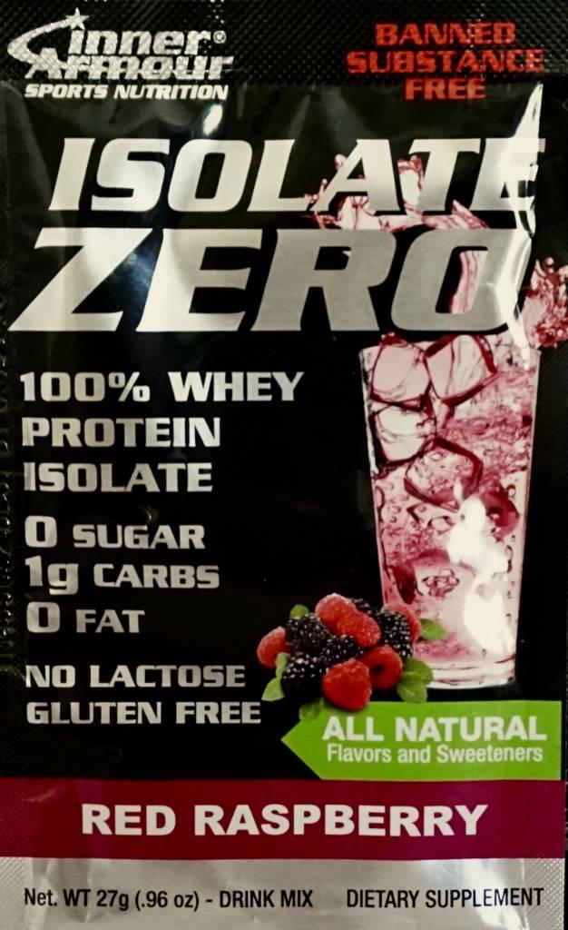 Inner Armour Isolate Zero Red Raspberry Drink Mix