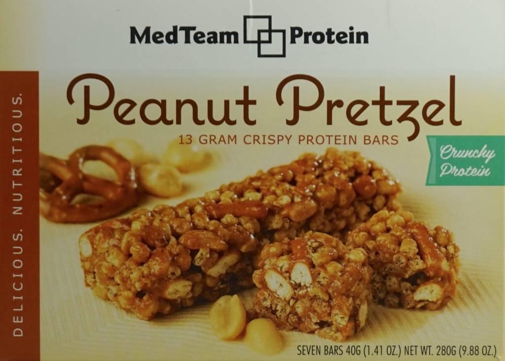 Healthwise Peanut Pretzel Crispy Bar