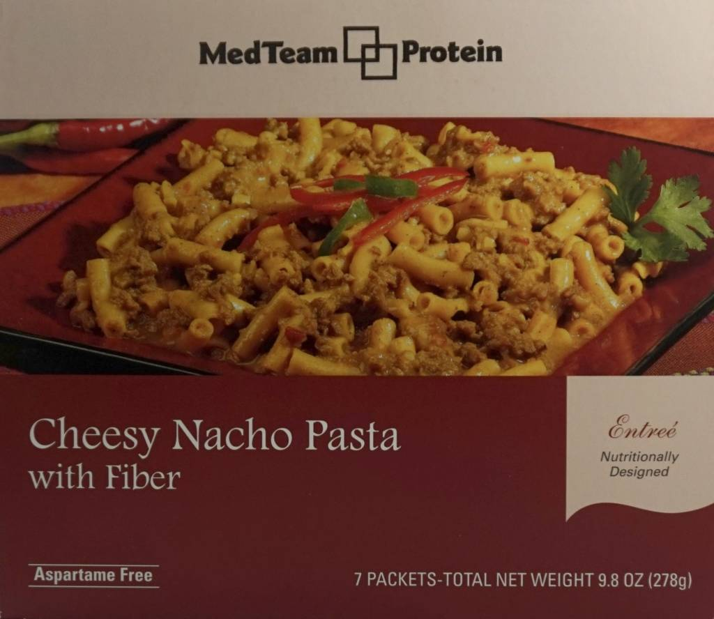 MedTeam Cheesy Nacho Pasta Entree