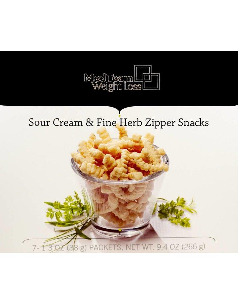 Bariatrix Sour Cream & Herb Zippers