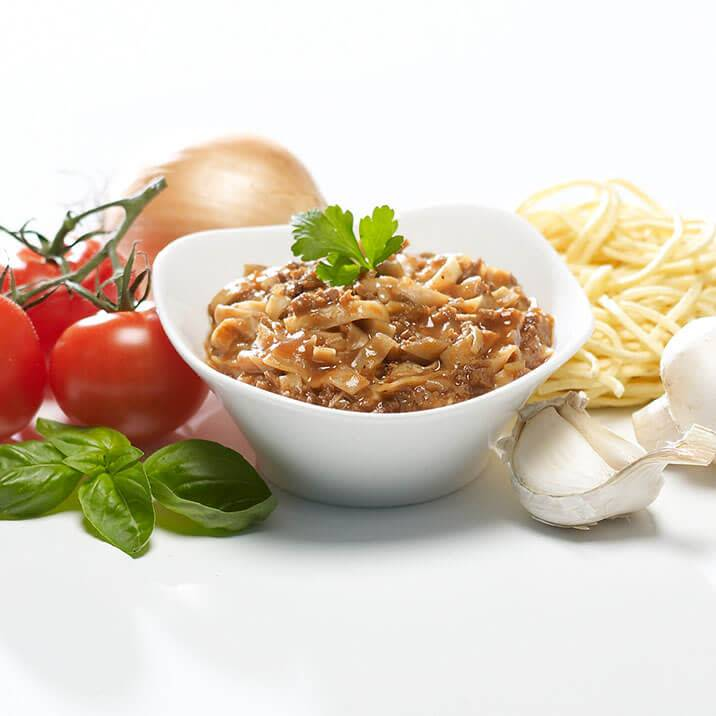 Bariatrix Vegetable Spaghetti Bolognese