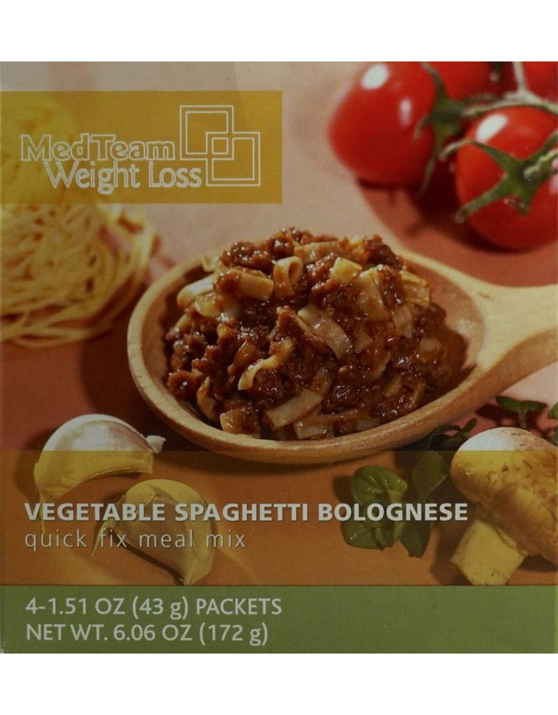 Bariatrix Vegetable Spaghetti Bolognese