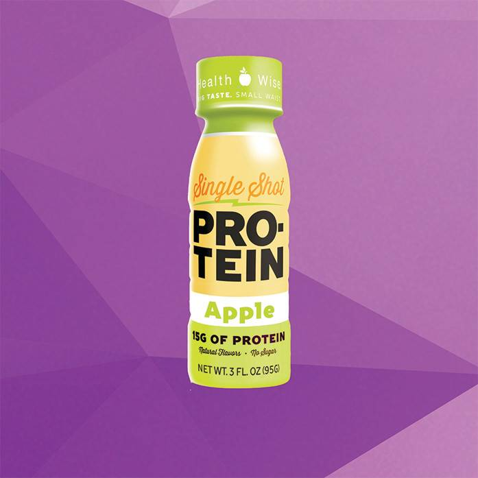 Healthwise Single Shot Protein - Apple