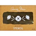 Annie Sloan Annie Sloan Stencil Size A4 - Arctic Poppy