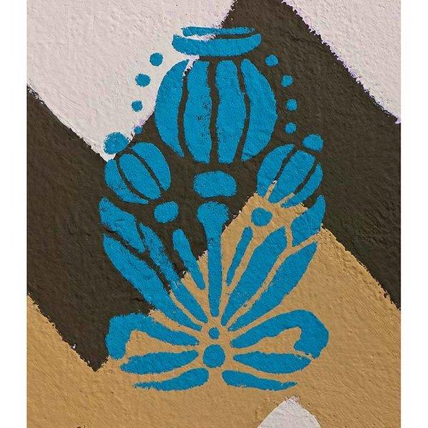 Annie Sloan Annie Sloan Stencil Size A4 - Poppy Pod