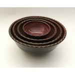 Cardinal Lake Pottery Prep Bowls, Set of 4