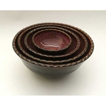 Cardinal Lake Pottery Prep Bowls, Set of 4