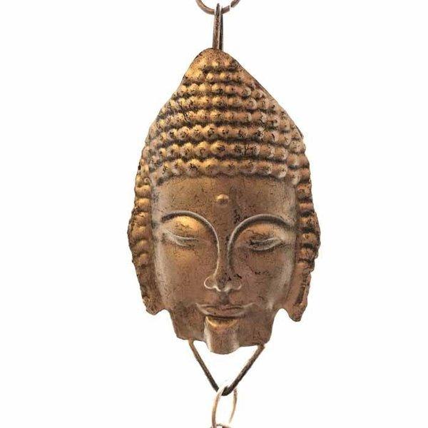 Antique Gold Buddha Rain Chain