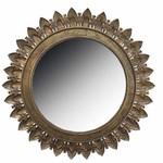 Metal Leaf Medallion Mirror SHIPS FREE