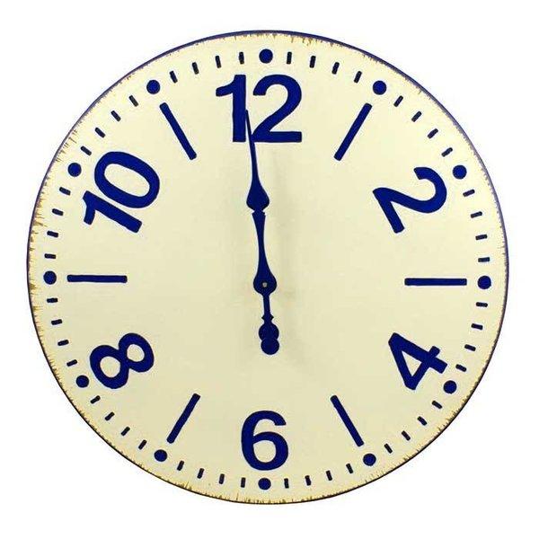 Somerwick Wooden Clock SHIPS FREE