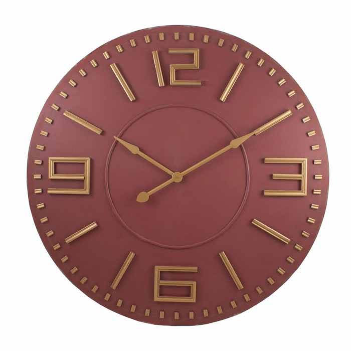 Mira Wood Clock Chalk It Up
