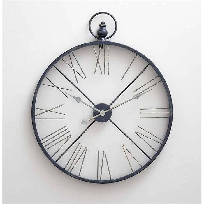Avery Metal Clock Chalk It Up