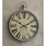 Champagne Metallic Clock SHIPS FREE