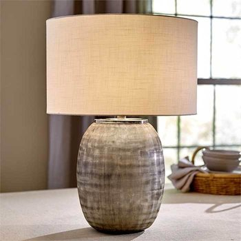 Etched Glass Table Lamp SHIPS FREE