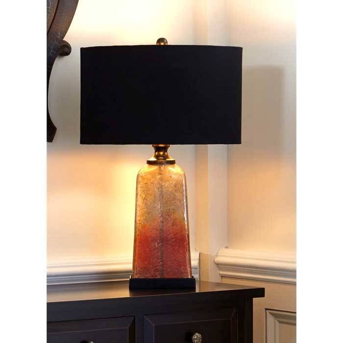 Amber quartz table lamp chalk it up norcross amber quartz table lamp ships free aloadofball Image collections