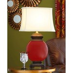 Merlot Ceramic Lamp SHIPS FREE