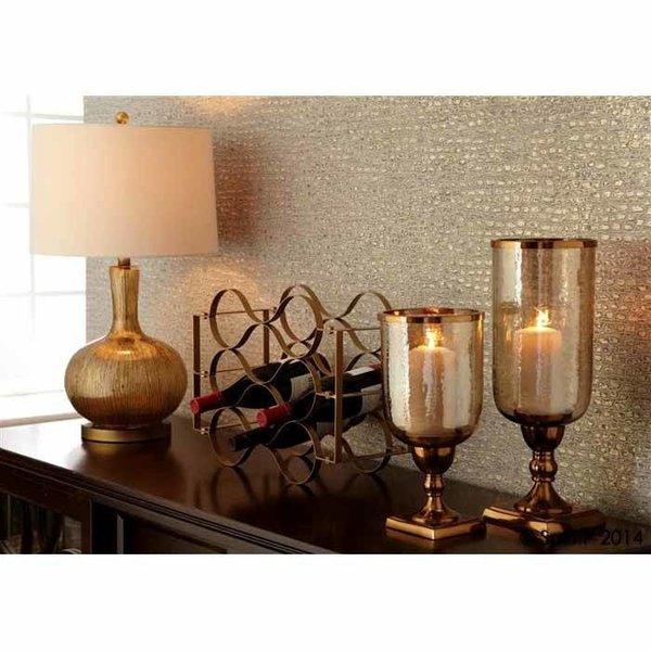 Gold Striae Table Lamp SHIPS FREE