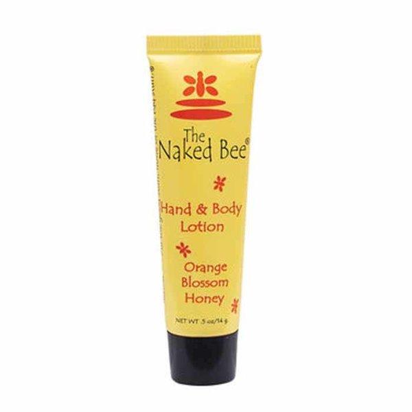 The Naked Bee Orange Blossom Honey Hand & Body Lotion, 0.5oz