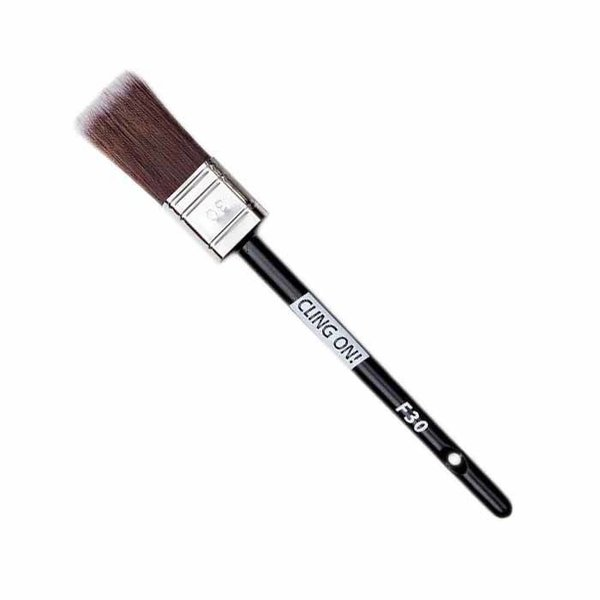 Cling On! Cling On! Flat Synthetic Brush F30