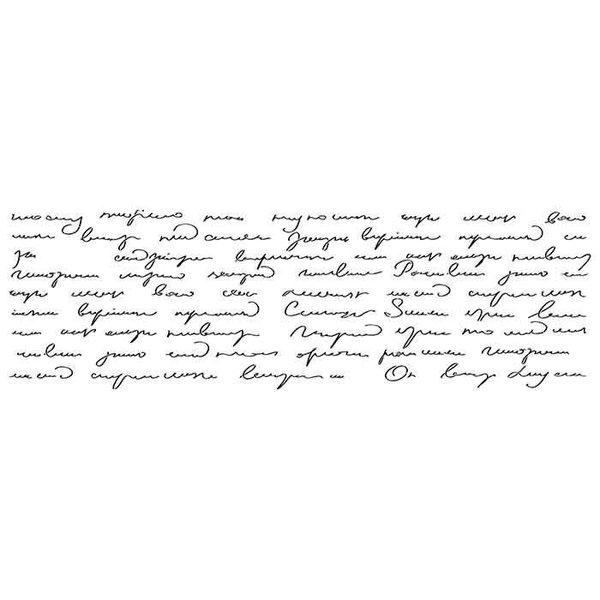 "Artisan Enhancements Artisan Enhancements Embellished Abstract Script Stencil 19"" x 11.25"""