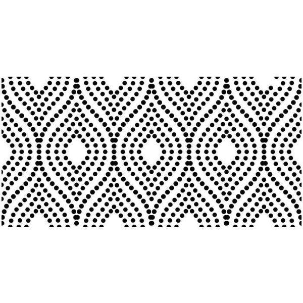 """Artisan Enhancements Artisan Enhancements Dotted Pearl Stencil 18.5""""x10"""""""