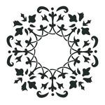 "Artisan Enhancements Artisan Enhancements Wreath Stencil 11""x11"""