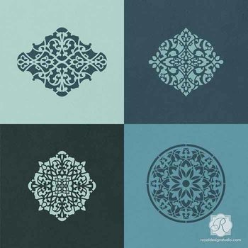 Royal Design Studio Arabesque Ornament Set