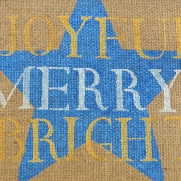Royal Design Studio Shining Star Christmas Stencil
