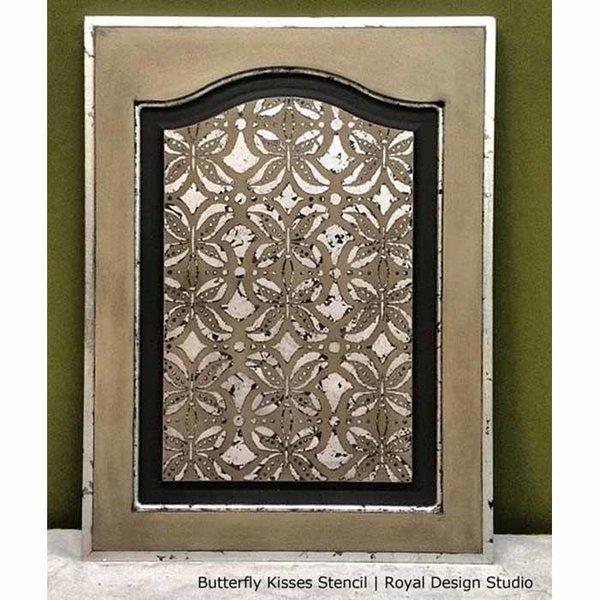 Royal Design Studio Butterfly Furniture Kisses Stencil