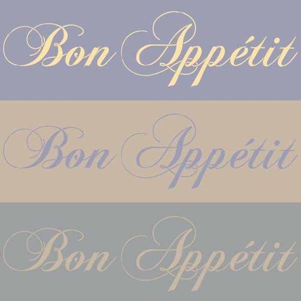 Royal Design Studio Bon Appetit Lettering Stencil