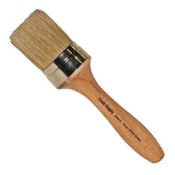 "Chalk Supply Chalk Supply Large Wax Brush, 2"""