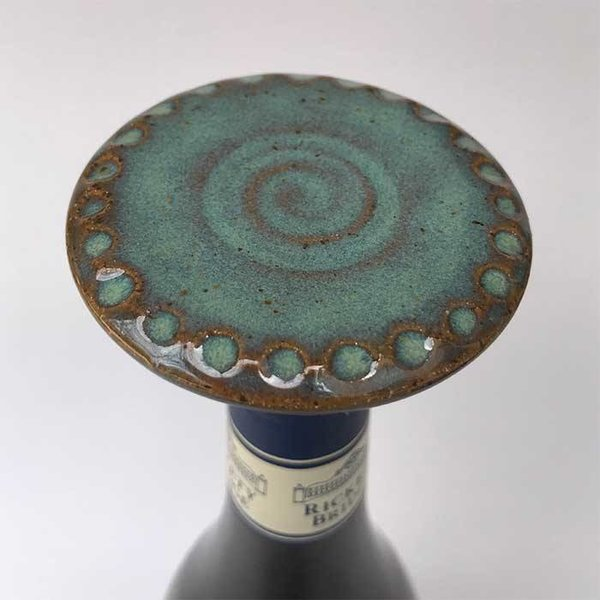 Cardinal Lake Pottery Cardinal Lake Pottery Wine Stoppers, Cool Colors