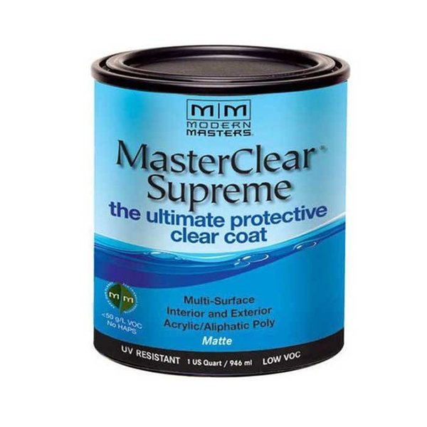 Masterclear Supreme Protective Clearcoat, Matte Quart