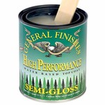General Finishes High Performance Water Base Topcoat, Quart