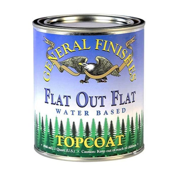 General Finishes General Finishes Flat Out Flat Topcoat