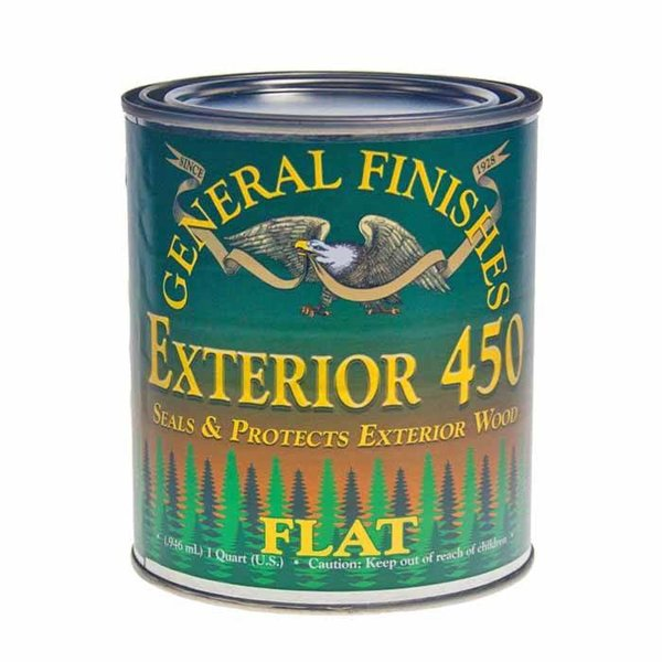General Finishes Exterior 450 Topcoat, Quart
