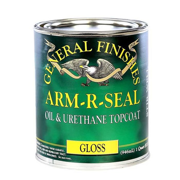 General Finishes General Finishes Arm-R-Seal Topcoat, Quart