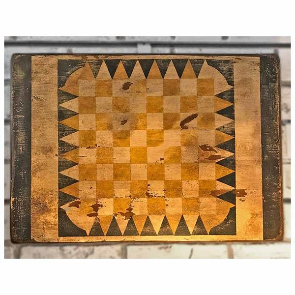 Joe Maddox Folk Art Gameboard