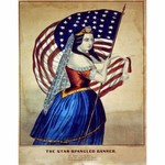 The Star Spangled Banner Decoupage Paper