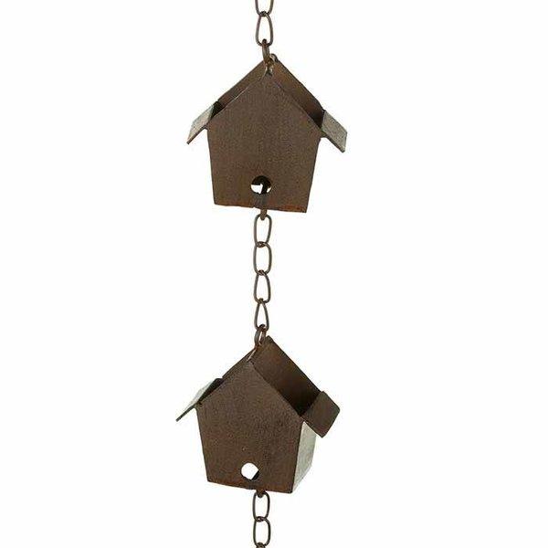Bird House Rain Chain