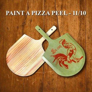 Pizza Peel Workshop, Nov. 10, 10:30AM