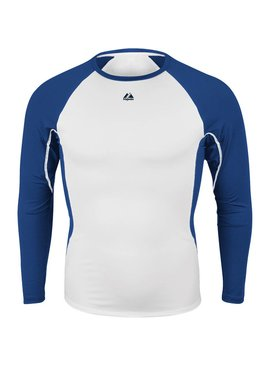 MAJESTIC Warrior Compression Long Sleeve Adult Shirt