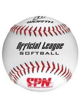 WORTH SPN105L Softball Ball (UN)
