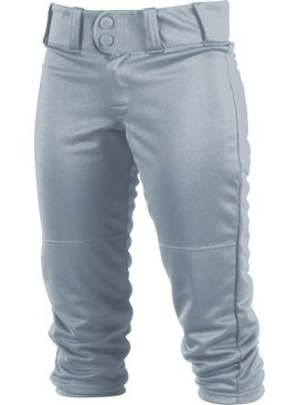 WORTH GIRLS LOW-RISE BELTED PANTS GREY SMALL