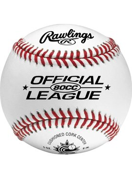 RAWLINGS 80CC Baseball Ball (UN)