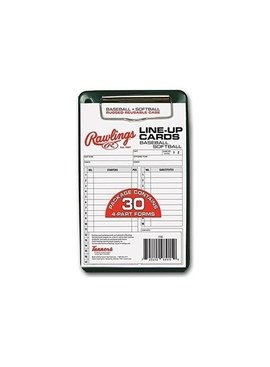 RAWLINGS 30 Cartes D'Alignement