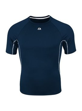 MAJESTIC VIPER COMPRESSION SHORT SLEEVE YOUTH