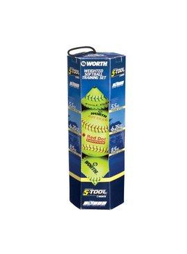 WORTH Softball Throwing Training Kit