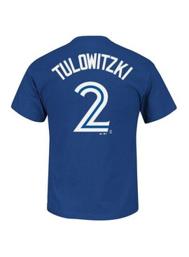MAJESTIC TROY TULOWITZKI TORONTO BLUE JAYS