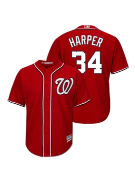 MAJESTIC WASHINGTON NATIONAL JERSEY BRYCE HARPER